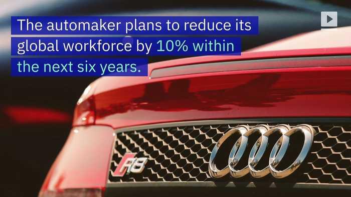 Audi to Cut 7,500 Jobs