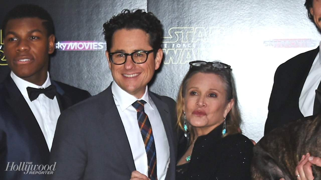 J.J. Abrams Talks Eerie Message Carrie Fisher Left Him in Her Book   THR News