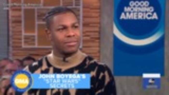 John Boyega Confesses His 'Star Wars: Rise of Skywalker' Script Ended Up on eBay   THR News