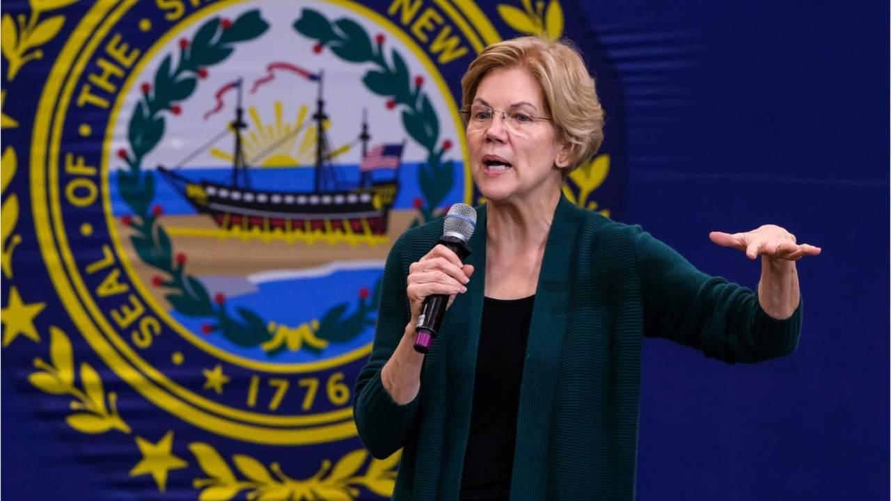 Elizabeth Warren accuses Michael Bloomberg of trying to buy democracy