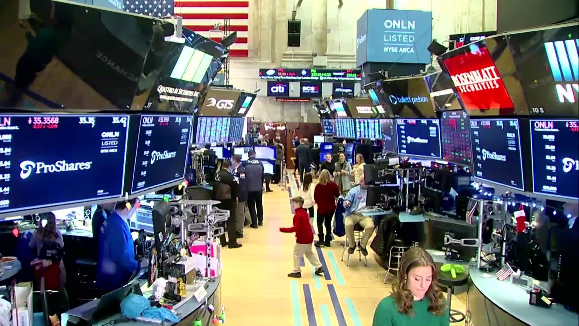 Wall Street slips on Black Friday