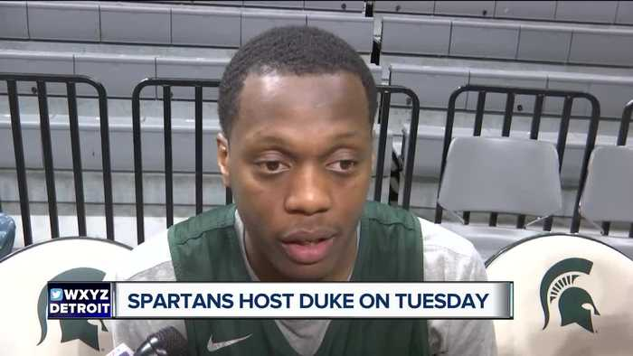 Cassius Winston said confidence has to be there vs. Duke
