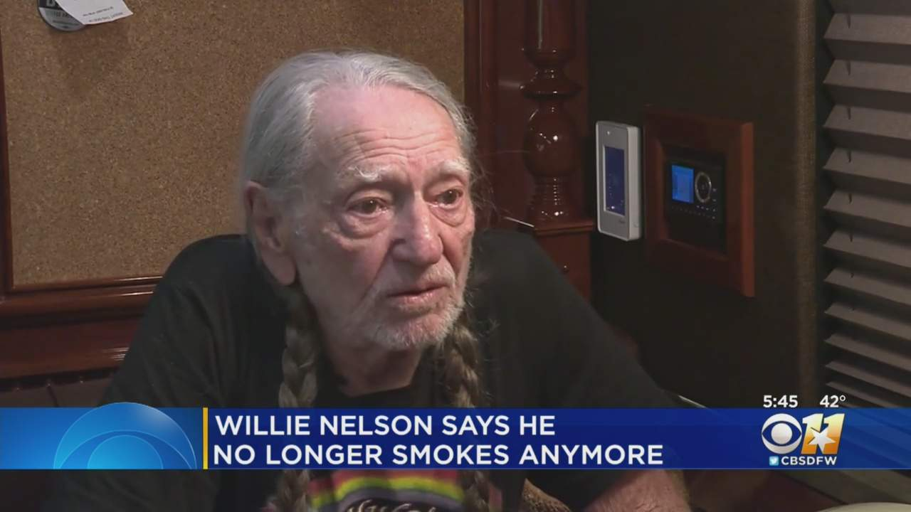 Country Music Legend Wille Nelson Has Stopped Smoking Weed