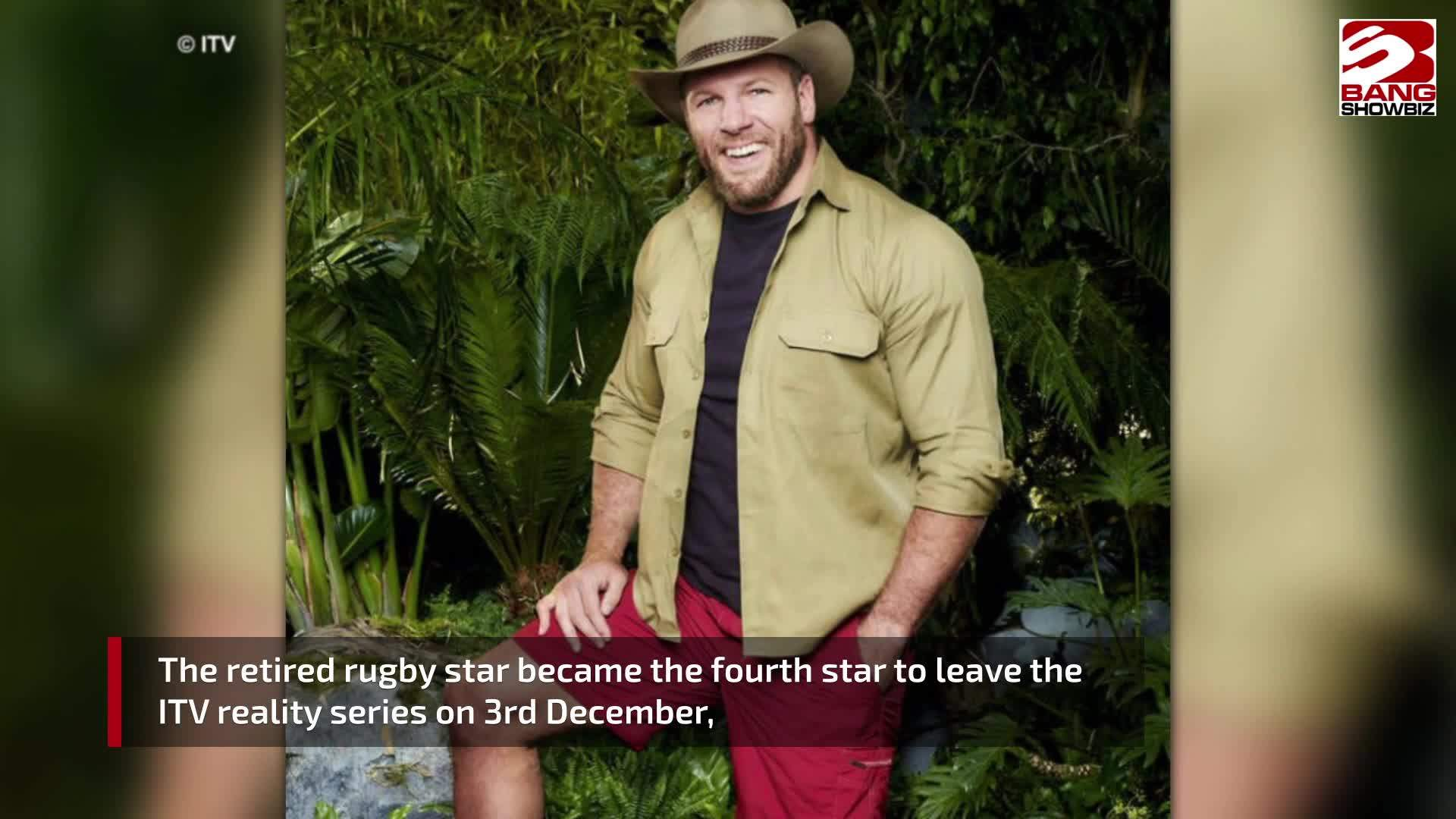 James Haskell emotional over campmates' reactions to exit