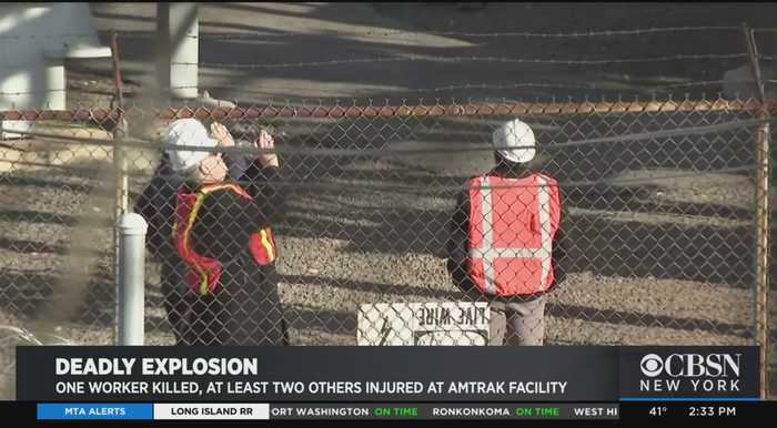 Amtrak Explosion Kill Worker, Leaves 2 Others Injured