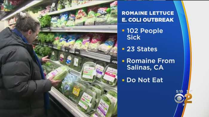 Romaine Lettuce E. Coli Warning Grows