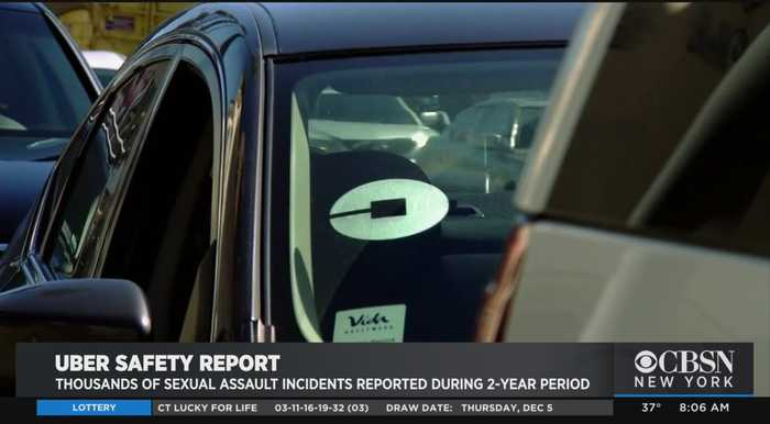 Uber Report Unveils Sex Assault Numbers