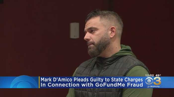 Mark D'Amico Pleads Guilty To State Charges In Connection With GoFundMe Scam