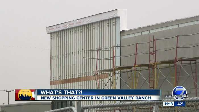 'What's that?': New shopping center coming to Green Valley Ranch