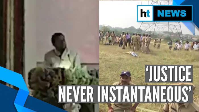 'Justice must never take form of revenge': CJI Bobde after Hyderabad encounter
