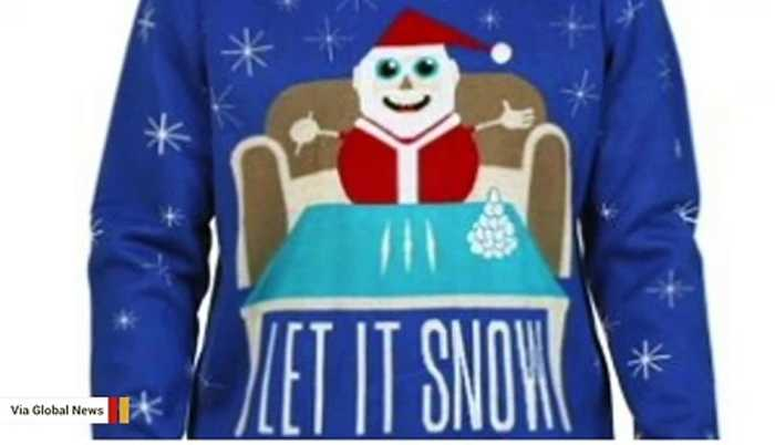 Walmart Canada Pulls Sweater Showing Santa With Cocaine After Public Outcry