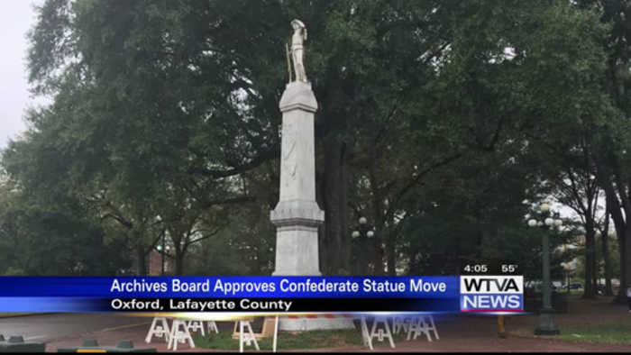 AP: Archives board OKs plan to move Ole Miss Confederate statue