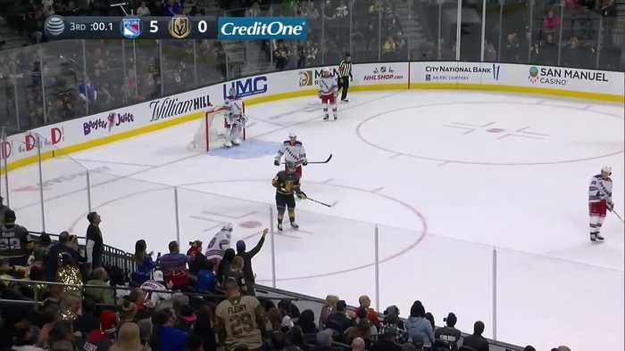 Vegas Golden Knights vs. New York Rangers - Game Highlights