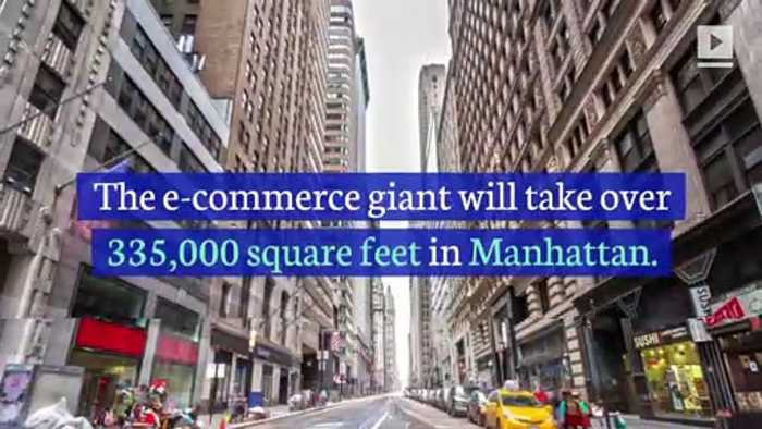 Amazon to Lease Office Space in New York City