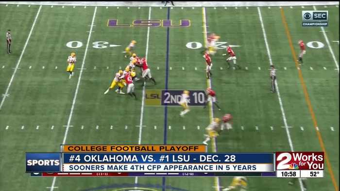 Oklahoma to face #1 LSU in College Football Playoff