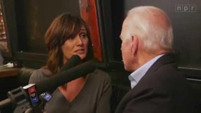 Joe Biden gets snappy with NPR reporter over incident w/Iowa voter
