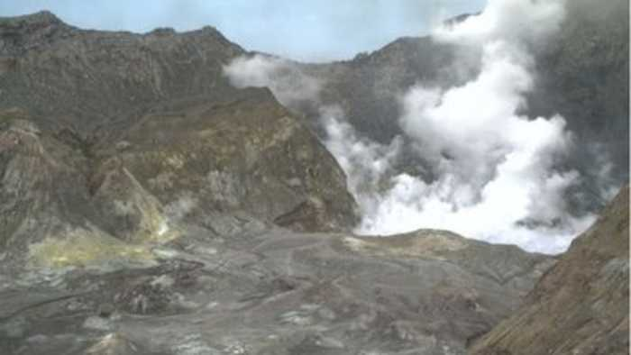 AT least five killed in New Zealand volcano eruption