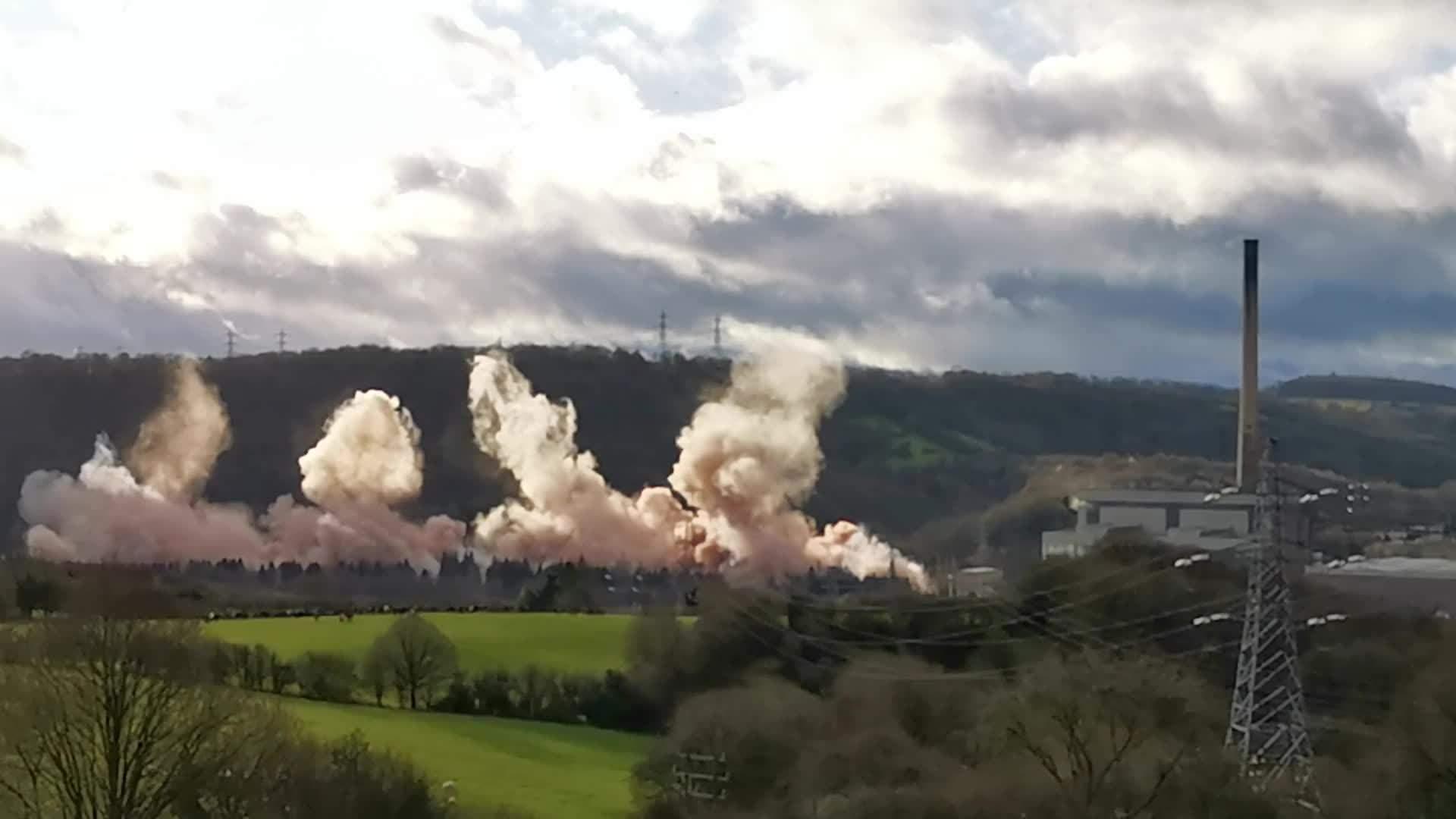 Ironbridge Power Station Demolition