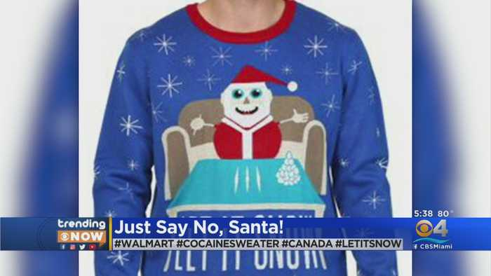 Trending Now: Walmart Pulls Naughty Santa Sweater
