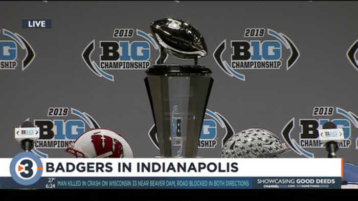 Badgers vs. Buckeyes: Head coaches discuss Big Ten Championship match-up