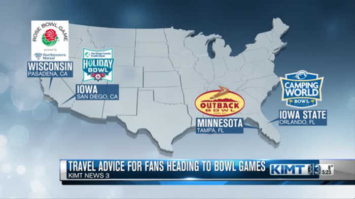 Heading to Bowl Games