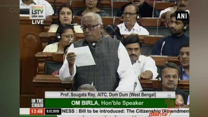 CAB is unconstitutional violates Article 14 TMC in Lok Sabha