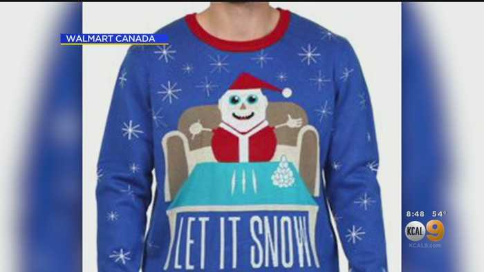 Walmart Apologizes For Selling Sweaters That Appear To Show Santa With Lines Of Cocaine