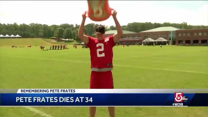 City landmarks honor Pete Frates