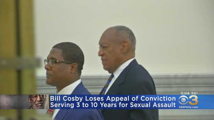 Pennsylvania Appeals Court Rejects Bill Cosby's Effort To Overturn Sex Assault Conviction