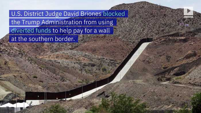 Federal Judge Blocks Funds for Border Wall Construction