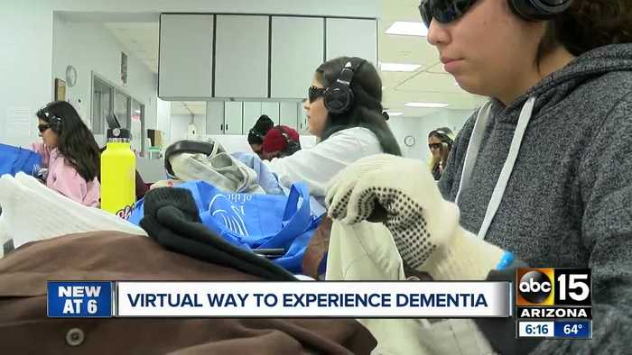 Virtual way to experience dementia