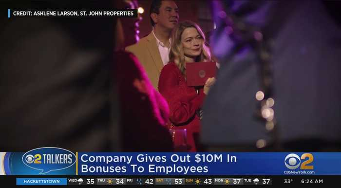 Company Gives Out $10M In Bonuses