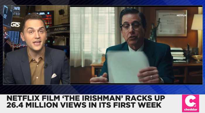 Netflix's 'The Irishman' Gets 26.4 Million Views in Its First Week