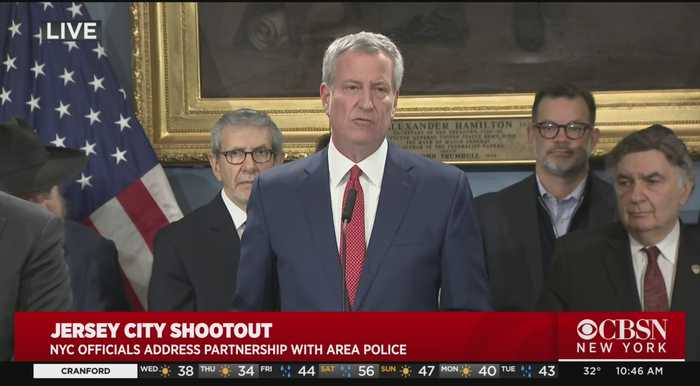 Jersey City Shooting: NYC Officials Address Killings, Leaving 6 Dead