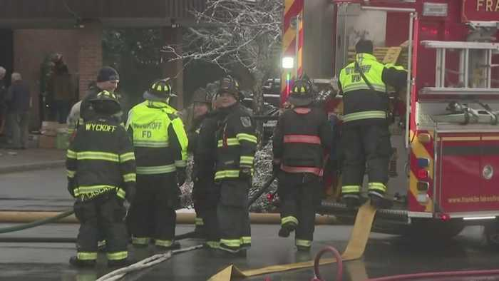 Arson Suspected In New Jersey Church Fire