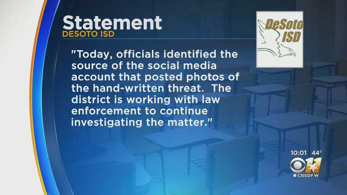 DeSoto ISD Increasing Security At High School After Discovery Of 'Kill List'