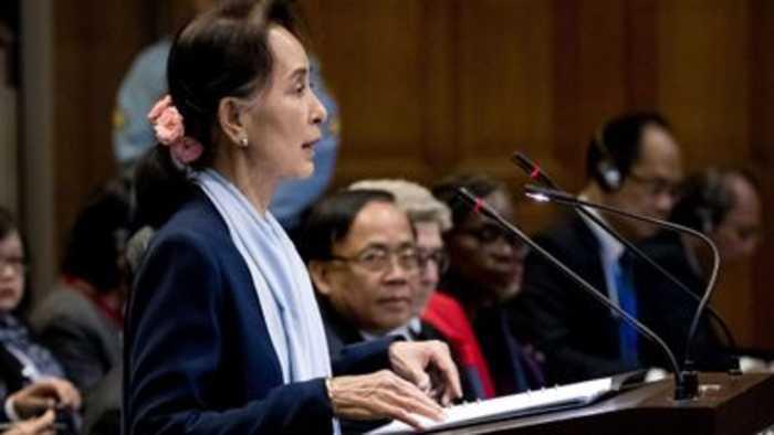 Myanmar's leader asks the UN's top court to drop genocide case