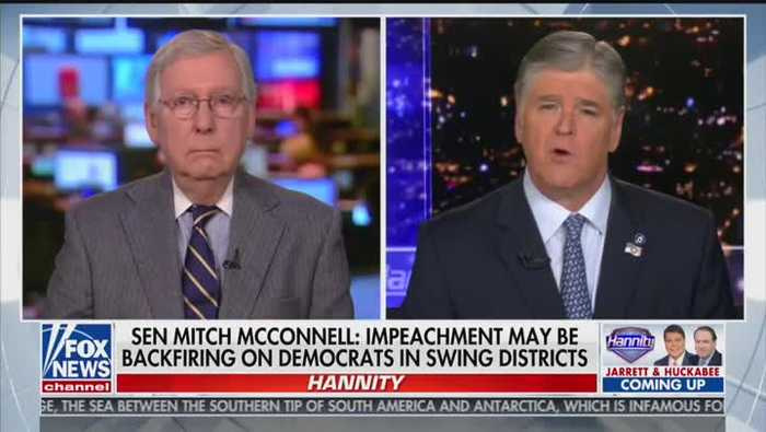 McConnell Says He'll Take His 'Cues' From Trump Lawyers