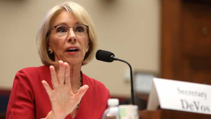 Lawmakers Attack DeVos Over Actions On Student Loan Relief Program