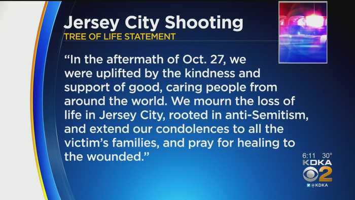 Tree Of Life Stands With Jersey City Community