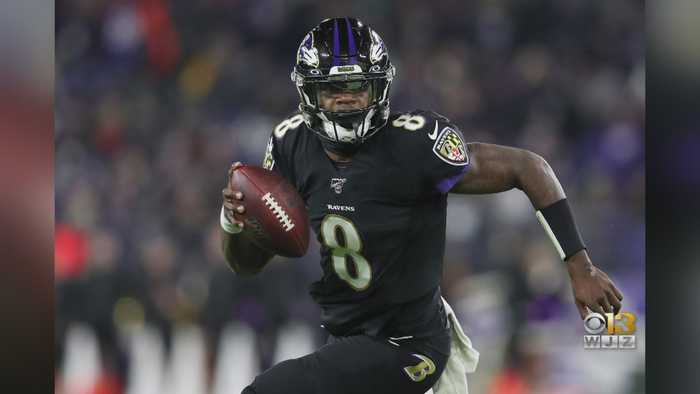 Lamar Jackson Breaks Michael Vick's Single-Season Rushing Record