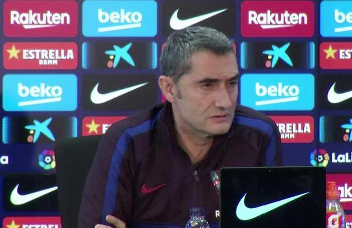 Barca fully focused on Sociedad before Clasico - Valverde