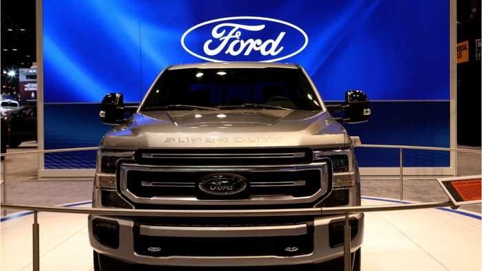 Ford recalls 547,538 super duty pickup trucks due to fire risk