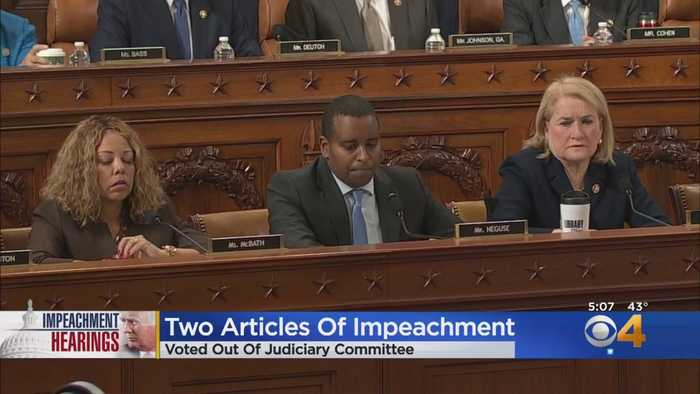 See How Judiciary Committee Members From Colorado Voted On Impeachment Articles