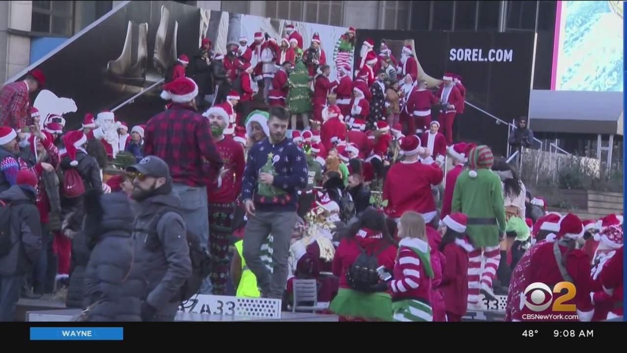 Hundreds Expected To Hit New York Bars For SantaCon