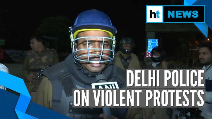 'Situation under control now': Delhi cop on violent protest | Citizenship law