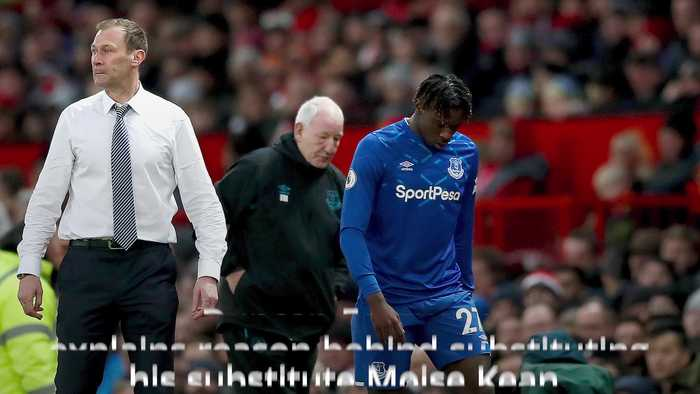 Duncan Ferguson on controversial Moise Kean substitution