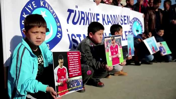 China TV pulls Arsenal match after Ozil remarks