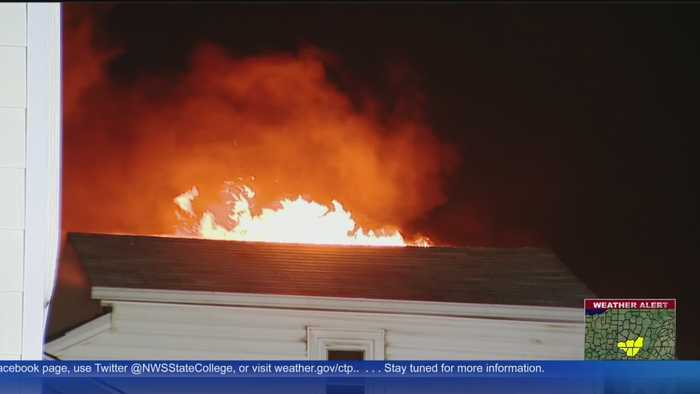 Crews Battle Early Morning Fire In Duquesne Heights