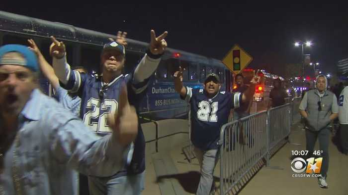 Cowboys Fans Celebrate Big Win Against Rams, But Still Feel Team Needs New Coach